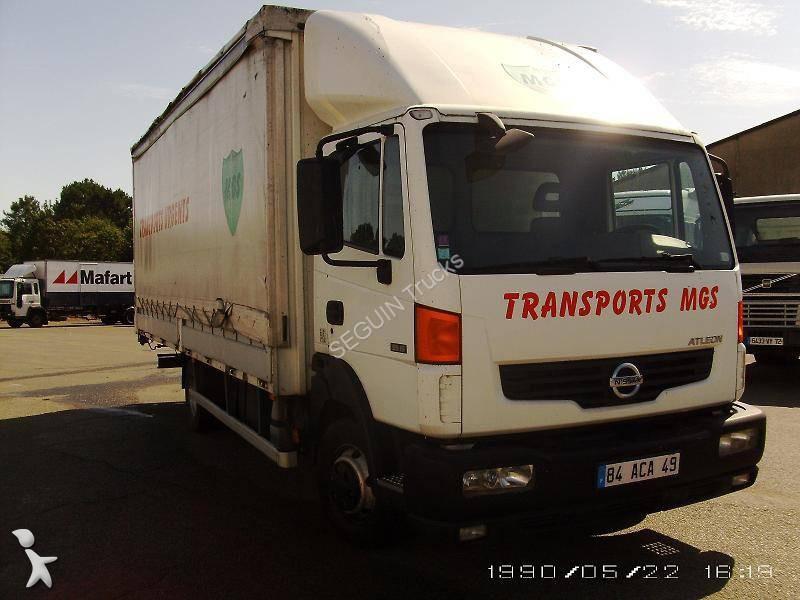 camion nissan teloni scorrevoli centinato alla francese atleon 4x2 euro 4 usato n 1280298. Black Bedroom Furniture Sets. Home Design Ideas