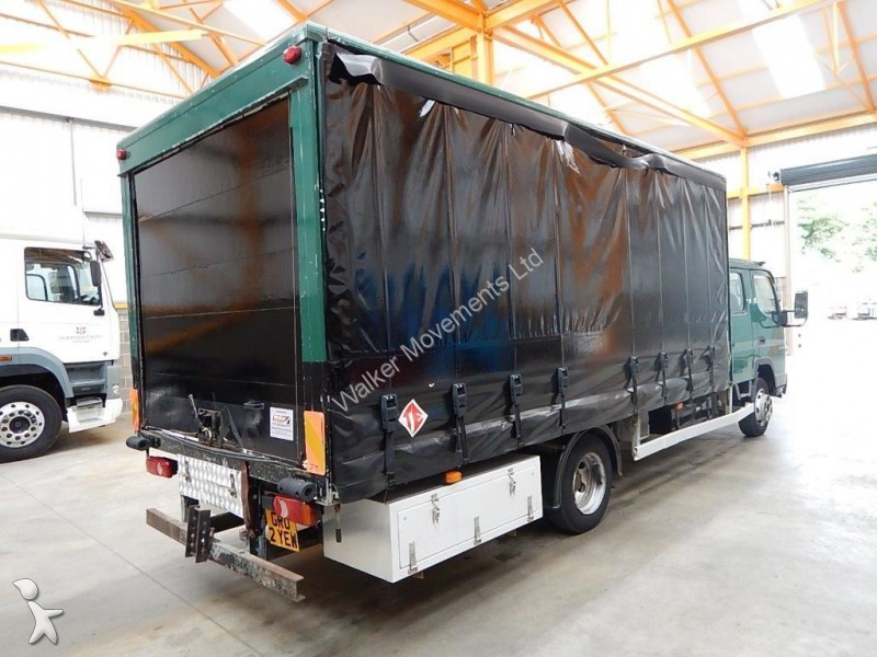 camion mitsubishi fourgon fuso canter 7c18d 7 5 tonne curtainsider 2007 gr02 yew gazoil euro. Black Bedroom Furniture Sets. Home Design Ideas