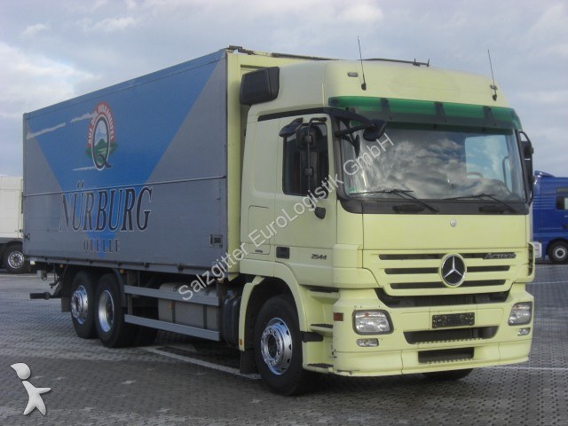 gebrauchter mercedes lkw koffer actros 2544 ladebordwand euro 5 automatik 6x2 diesel euro 5 n. Black Bedroom Furniture Sets. Home Design Ideas