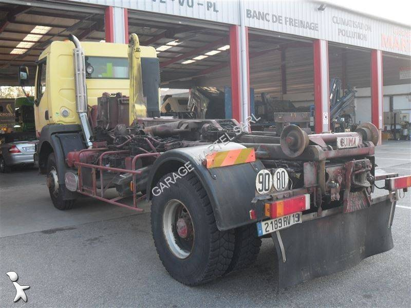 Camion renault polybenne guima kerax 340 4x4 euro 2 for Garage martel grigny