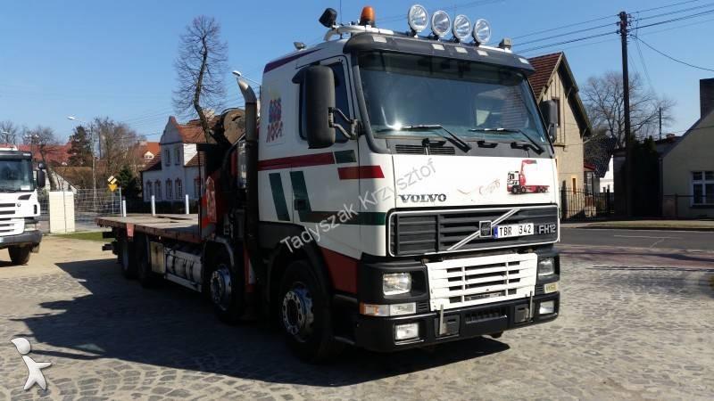 camion volvo porte engins fh12 460 8x4 gazoil euro 3 occasion n 1624535. Black Bedroom Furniture Sets. Home Design Ideas