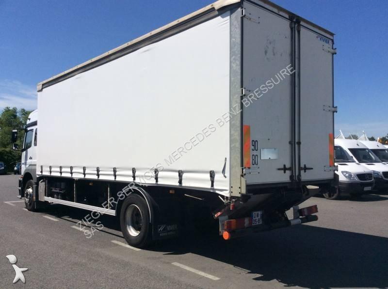 Camion mercedes rideaux coulissants plsc axor 1829 4x2 euro 4 hayon occasion n 1705066 - Garage mercedes bressuire ...