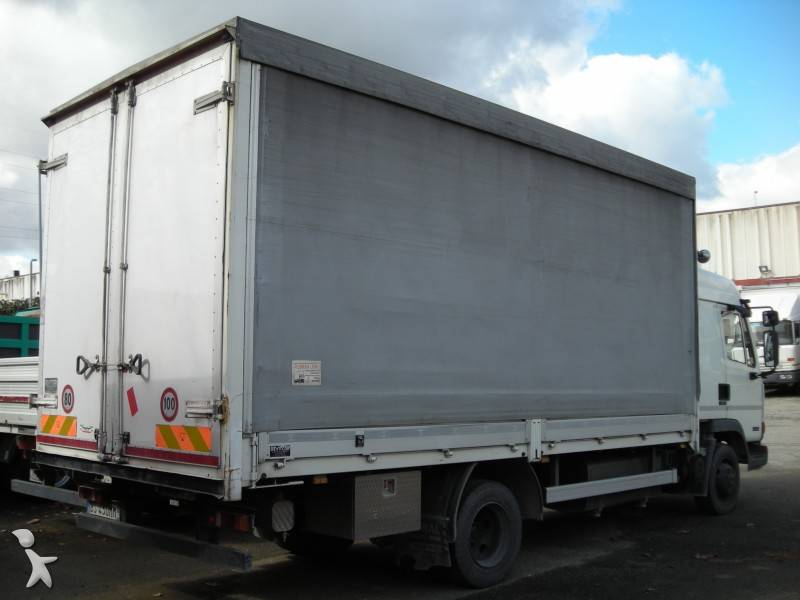 Camion daf cassone centinato alla francese lf45 fa 150 4x2 - Portata massima camion italia ...