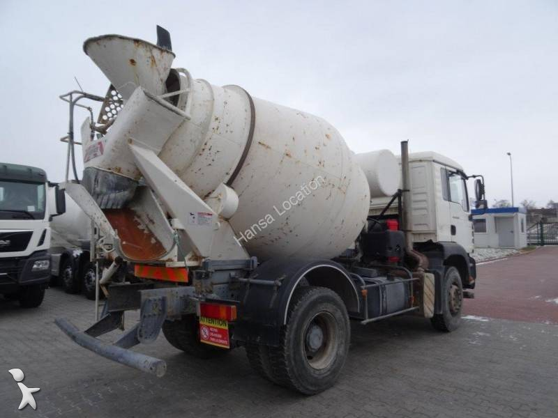 used man concrete mixer truck 4x2 euro 3 n 1819875. Black Bedroom Furniture Sets. Home Design Ideas