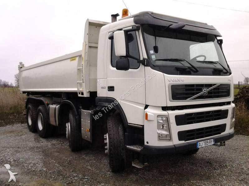 camion volvo bi benne marrel fm 460 8x4 gazoil euro 5 occasion n 642186. Black Bedroom Furniture Sets. Home Design Ideas