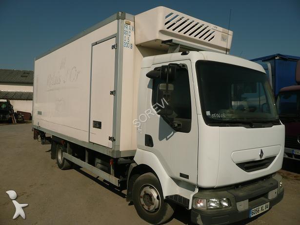 photos camion renault frigo frigo mono temp rature renault occasion 691083. Black Bedroom Furniture Sets. Home Design Ideas