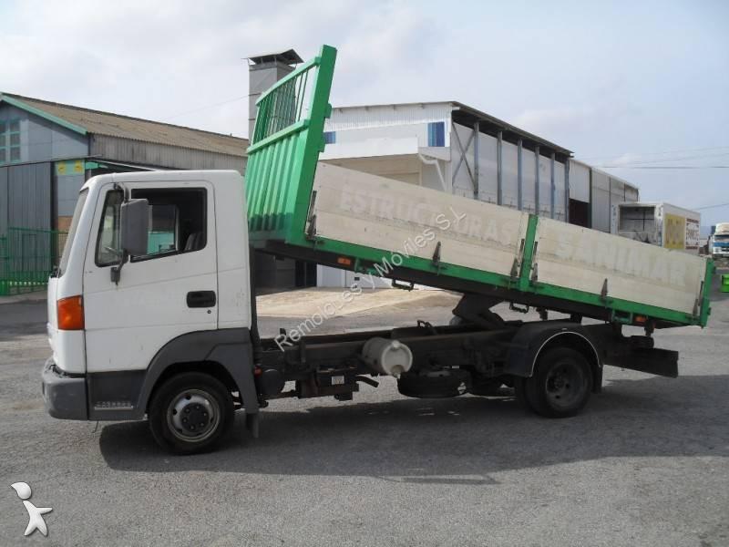 camion nissan ribaltabile trasporto cereali atleon 110 4x2 gasolio euro 2 usato n 842393. Black Bedroom Furniture Sets. Home Design Ideas