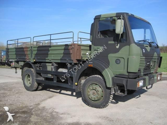 camion mercedes militaire ak 1017 4x4 gazoil euro 6 occasion n 967005. Black Bedroom Furniture Sets. Home Design Ideas