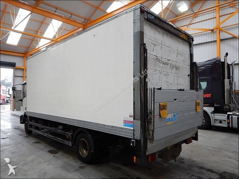 camion iveco fourgon cargo tector 80 e18 7 5 tonne box 2004 af53 hce 6x4 euro 3 occasion. Black Bedroom Furniture Sets. Home Design Ideas