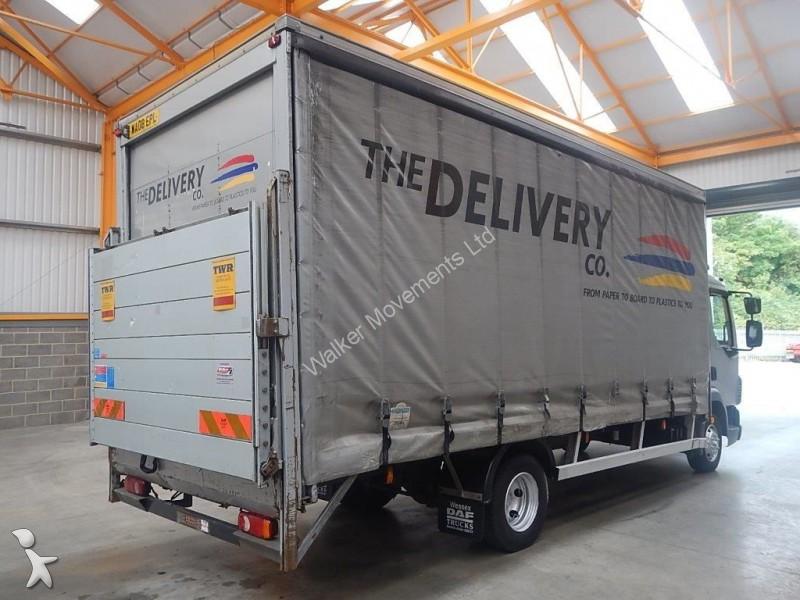 camion daf rideaux coulissants plsc lf45 7 5 tonne curtainsider 2008 wa08 epl euro 4. Black Bedroom Furniture Sets. Home Design Ideas