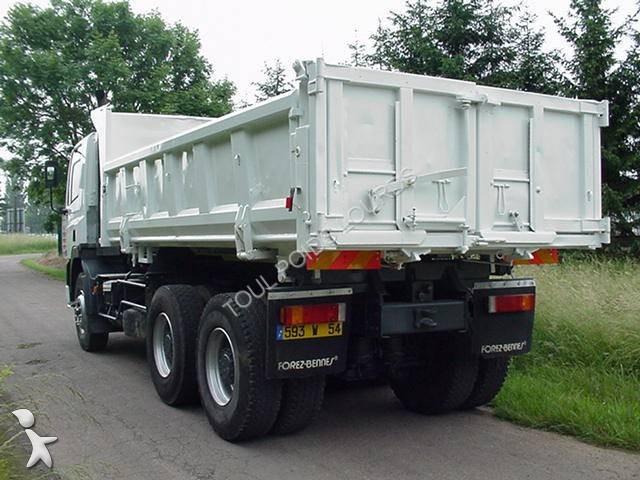 Camion daf bi benne forez bennes cf85 340 6x4 gazoil euro for Porte universelle benne