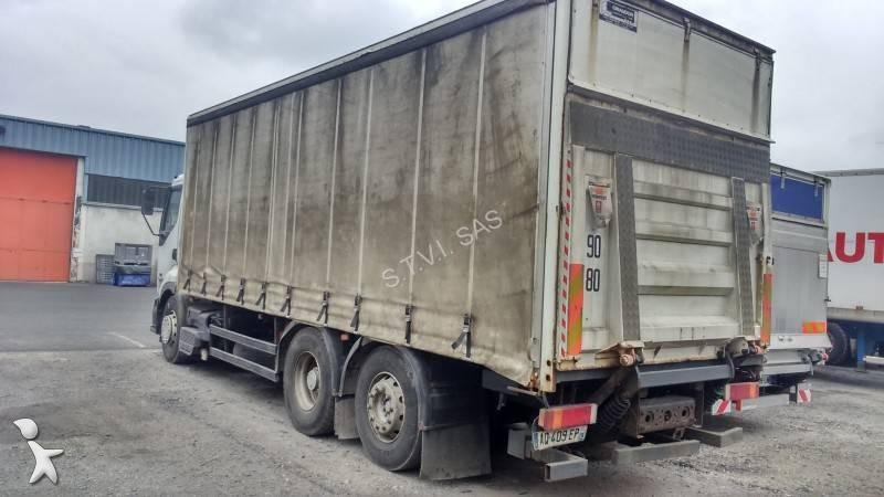 camion renault teloni scorrevoli centinato alla francese premium 420 dci 6x2 gasolio euro 3. Black Bedroom Furniture Sets. Home Design Ideas