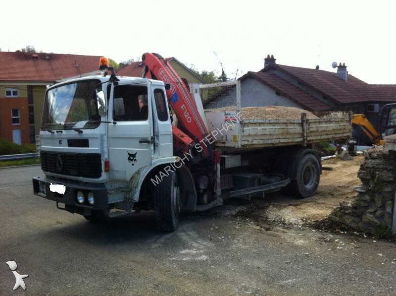 camion renault multibenne ampliroll gamme g 290 4x2 gazoil
