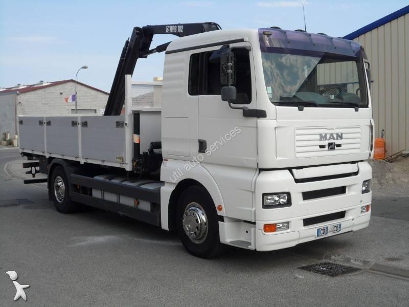 camion man plateau ridelles tga 4x2 gazoil euro 2 occasion n 1709758. Black Bedroom Furniture Sets. Home Design Ideas