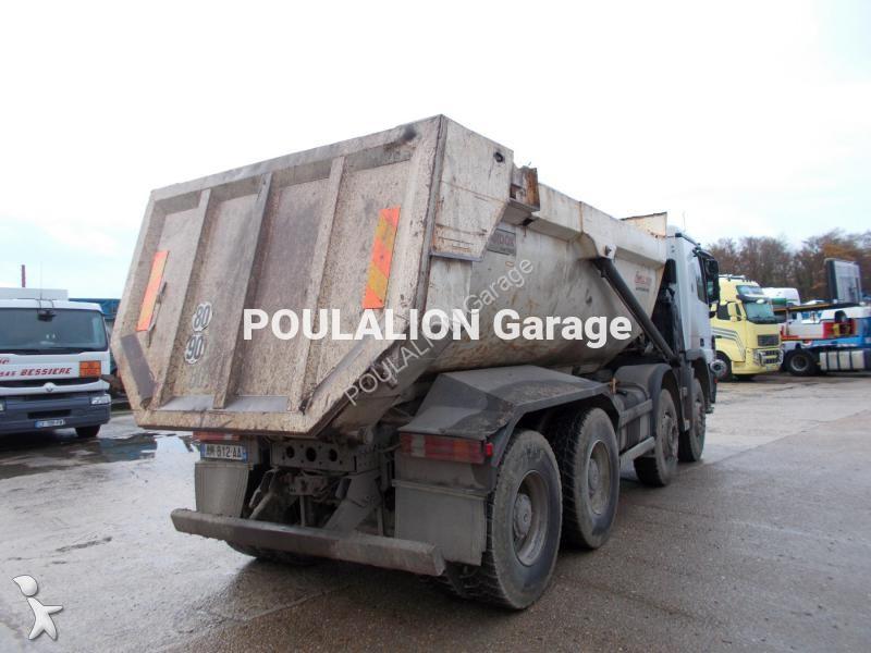 Camion mercedes benne actros 4144 8x4 gazoil euro 3 for Garage mercedes bonneuil sur marne