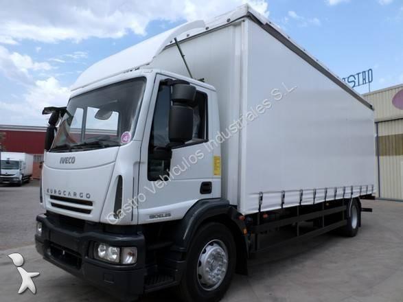 卡车 厢式货车 二手 依维柯 eurocargo 190e24 柴油图片