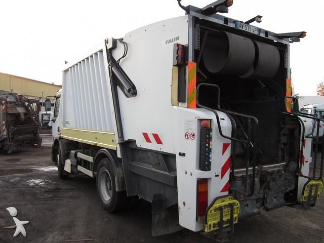 camion benne ordures m nag res renault premium 270 4x2. Black Bedroom Furniture Sets. Home Design Ideas