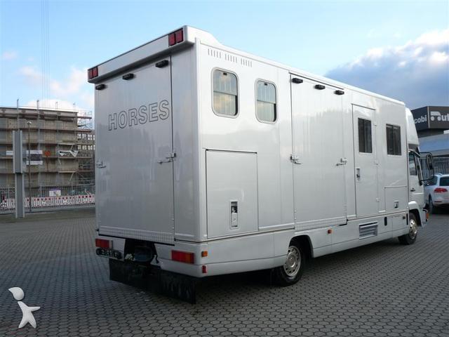 gebrauchter man viehtransporter pferdetransporter. Black Bedroom Furniture Sets. Home Design Ideas