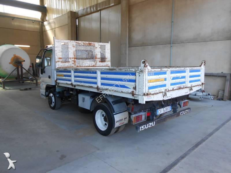 camion isuzu tri benne n series npr 77 4x2 gazoil euro 3 occasion n 1293116. Black Bedroom Furniture Sets. Home Design Ideas