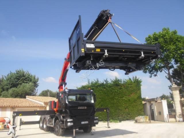 New Iveco Trakker tipper truck AD 720 T 45 T Diesel Euro 6