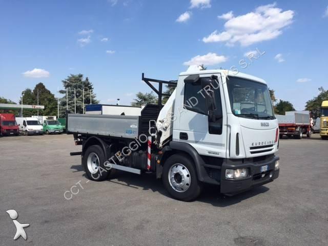 Camion iveco ribaltabile trilaterale eurocargo 120e24 - Portata massima camion italia ...