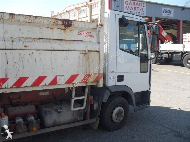 Camion iveco benne eurocargo 75e12 4x2 euro 2 occasion n for Garage martel grigny