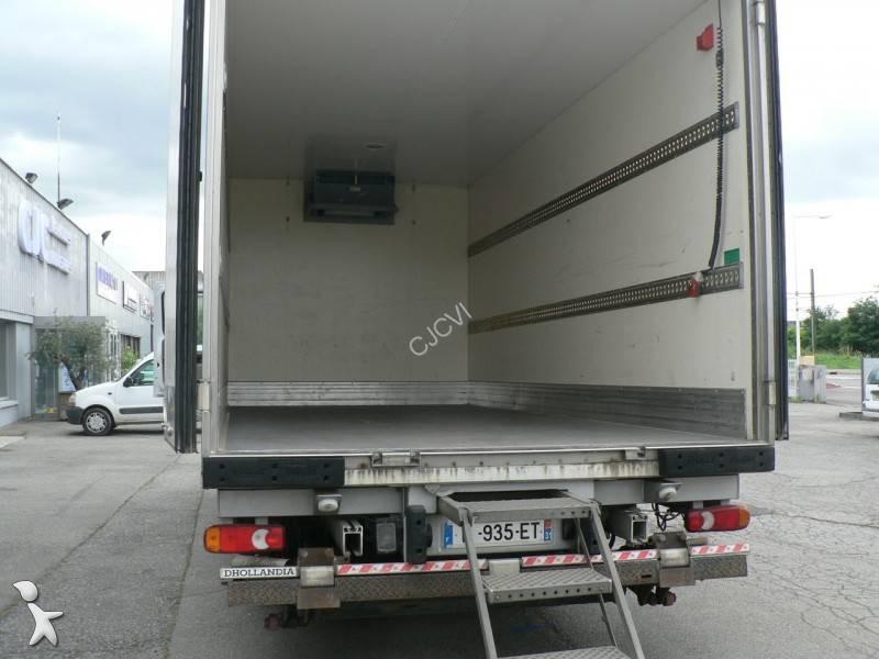 Camion frigo mono temp rature occasion renault midlum gazoil carrier hayon annonce n - Temperature frigo 10 degres ...