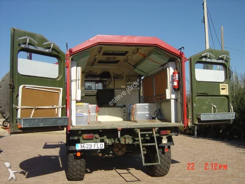 camion mercedes fourgon unimog u 1300 4x4 gazoil euro 5 occasion n 636366. Black Bedroom Furniture Sets. Home Design Ideas