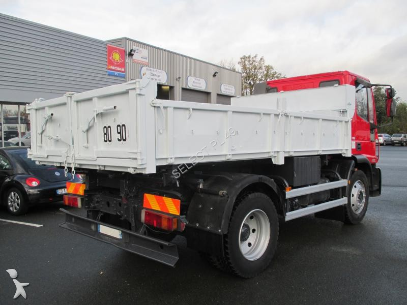 Camion iveco tri benne eurocargo 120e18 4x2 gazoil euro 3 for Porte universelle benne