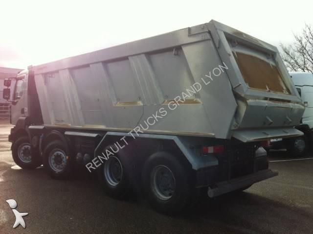 photos camion renault benne renault occasion 1566864. Black Bedroom Furniture Sets. Home Design Ideas