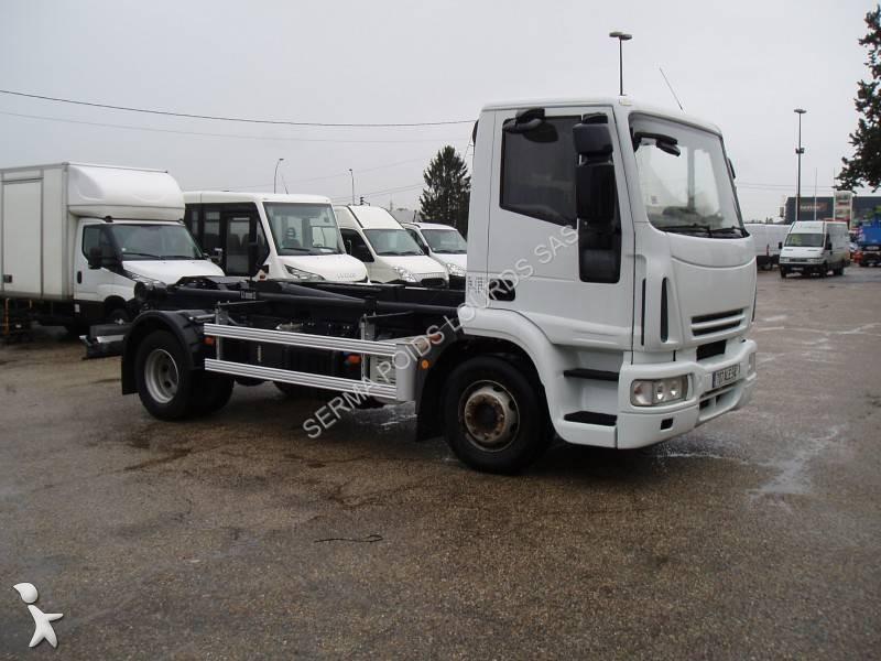 camion iveco polybenne eurocargo 140e22 4x2 gazoil euro 4 occasion n 1668033. Black Bedroom Furniture Sets. Home Design Ideas