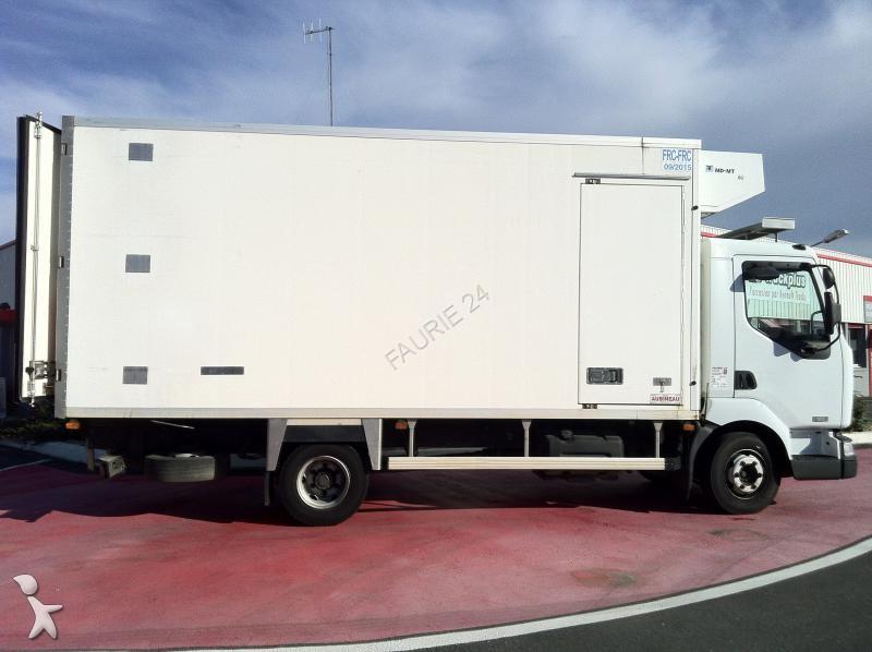 Camion frigo multi temp rature occasion renault midlum gazoil annonce n 823754 - Temperature frigo 10 degres ...