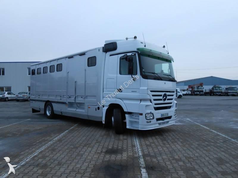 photos camion mercedes van chevaux mercedes 1841 occasion 887225. Black Bedroom Furniture Sets. Home Design Ideas