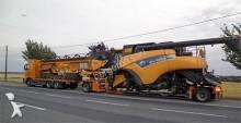 camion cu remorca platformă transport baloti Volvo second-hand