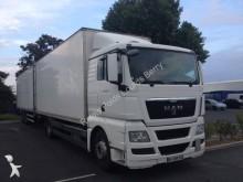 camion remorque fourgon polyfond MAN occasion