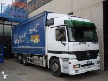 autotreno cassone centinato Mercedes usato