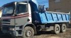 camion cu remorca benă DAF second-hand
