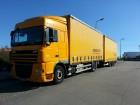 camion remorque savoyarde DAF occasion