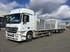 camion remorque plateau ridelles Mercedes occasion