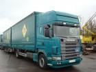 camion remorque savoyarde Scania occasion
