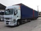 camión remolque lonas deslizantes (PLFD) Renault usado