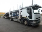 camion remorque porte voitures Renault occasion