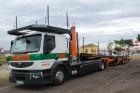 camión remolque portacoches Renault usado