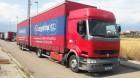 camión remolque lona corredera (tautliner) sistema de lona corrediza Renault usado