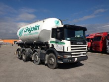used Scania tanker trailer truck