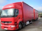 camion remorque Renault Premium 385.18