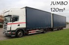 camión remolque Scania usado