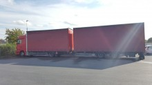 used Mercedes tautliner trailer truck
