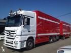 camion remorque bétaillère Mercedes occasion