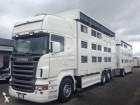 camion remorque bétaillère Scania occasion